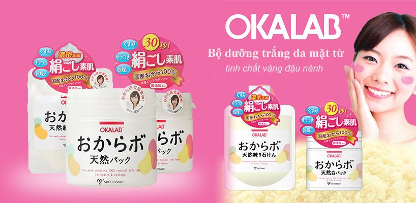 Bộ đôi Okalab dưỡng trắng làm da mềm mịn ngay lần đầu sử dụng