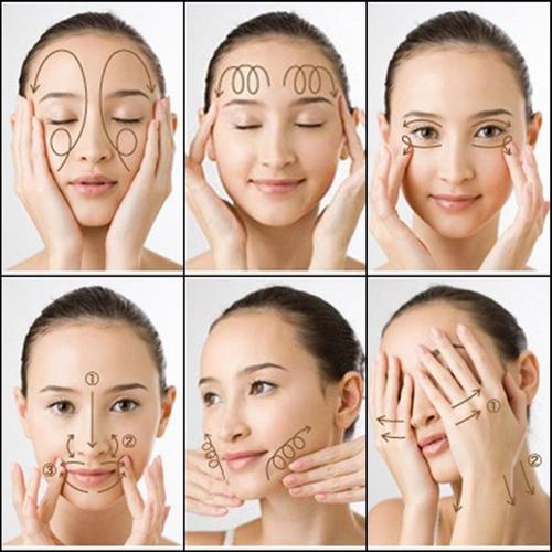 6 bước massage chuẩn nhất cho da mặt căng mịn