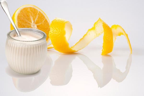 Công thức sữa tươi + chanh + vỏ cam