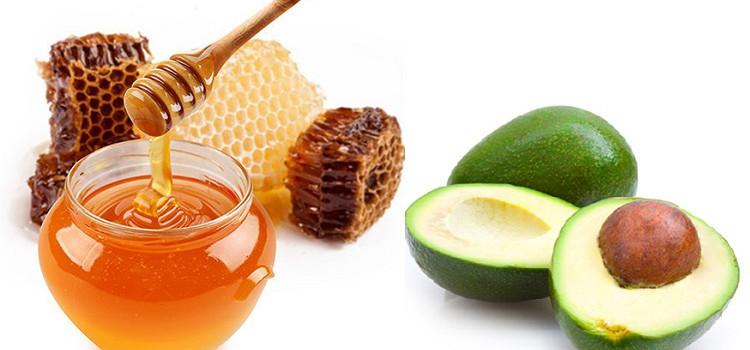 Trị sẹo trắng bằng quả bơ và mật ong