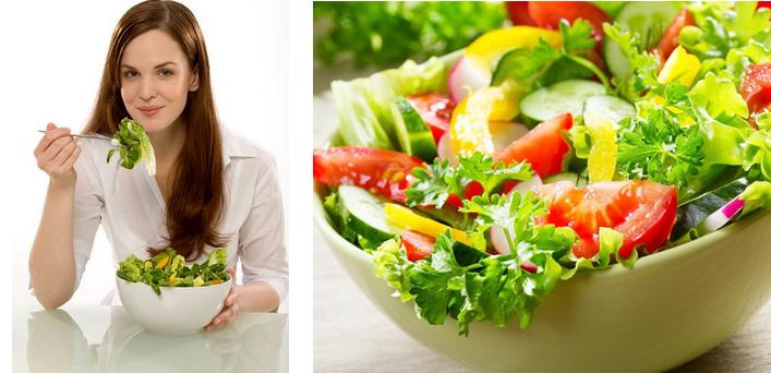 """""""Mẹo hay"""" cho bạn với cách làm salad rau trộn giảm cân dáng đẹp và tốt cho sức khỏe"""