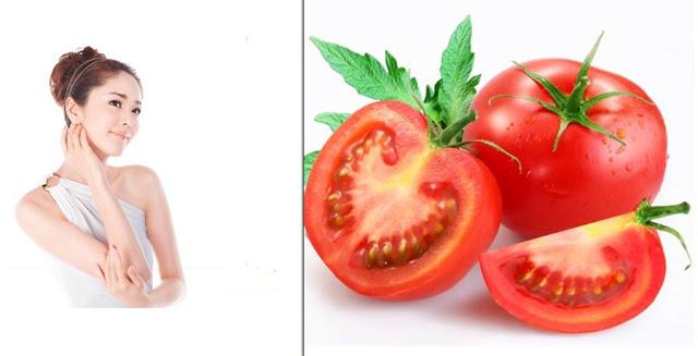Cách làm trắng da body tức thì bằng cà chua và sữa tươi