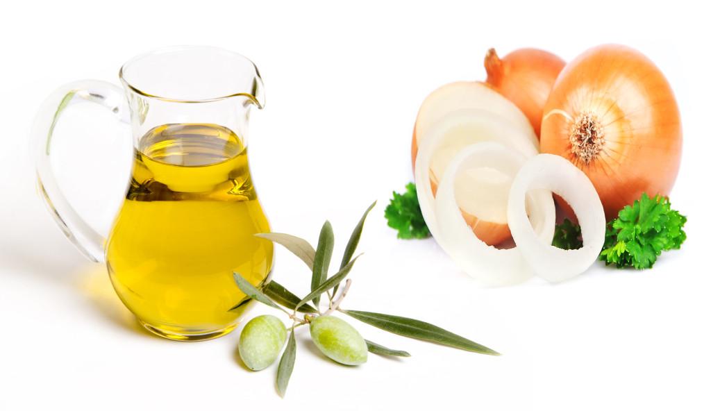 Cách trị sẹo rỗ lâu năm bằng hành tây và dầu oliu