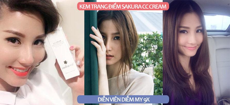 Nhận xét của Diễm My 9x sau khi dùng Sakura CC Cream