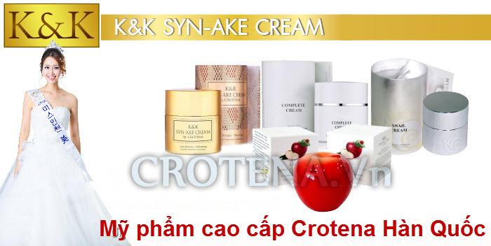 Kem dưỡng da ban đêm Crotena K&K Syn Ake Cream