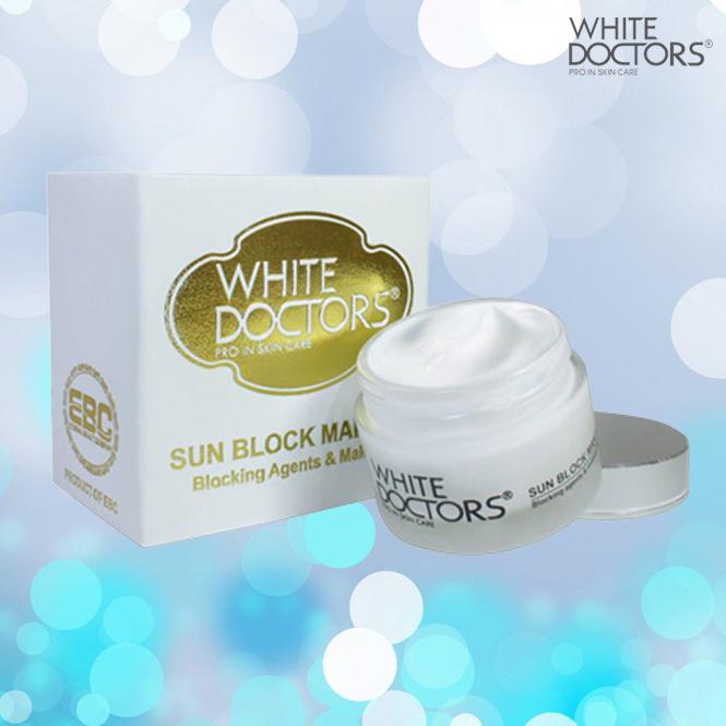 Chất kem bên trong kem chống nắng trang điểm mặt Sun Block Makeup White Doctors (màu cũ)