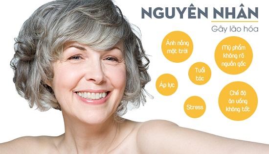 chăm dưỡng da khô bằng serum chống lão hóa để chúng không lão hóa sớm