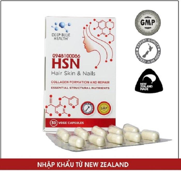 Viên uống trị mụn HSN đáp ứng đầy đủ các tiêu chuẩn quy định quốc tế