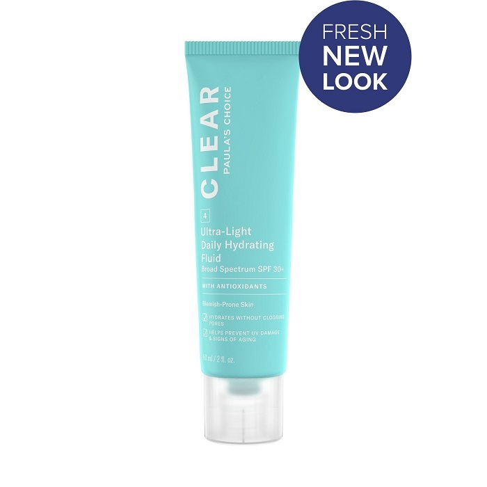 Kem dưỡng da chống nắng Paula's Choice Clear Ultra-Light Daily Fluid SPF 30+