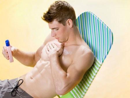 Kem chống nắng mang lại cho đàn ông làn da khỏe mạnh