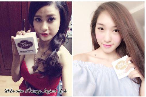 Diễn viên, ca sĩ Trương Quỳnh Anh dùng kem Skin Lightening và hài lòng về kết quả