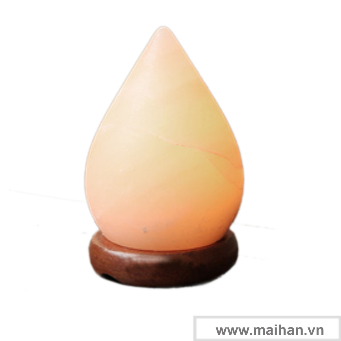 Đèn đá muối hình giọt nước