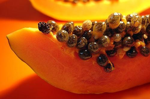 Đu đủ, mật ong