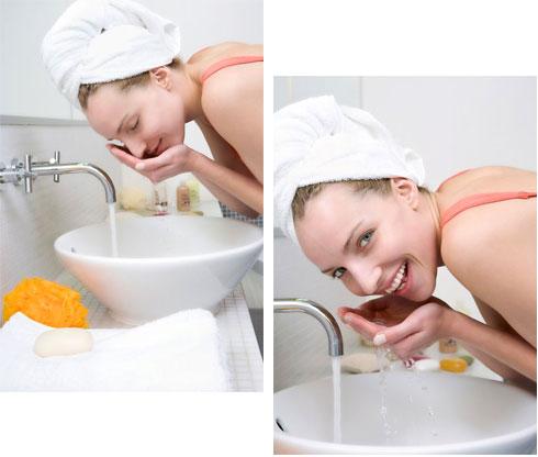 Cần rửa mặt trước khi dùng kem dưỡng trắng da