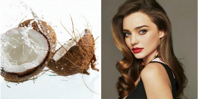 Dầu dừa giúp mái tóc luôn dày mượt, óng ả