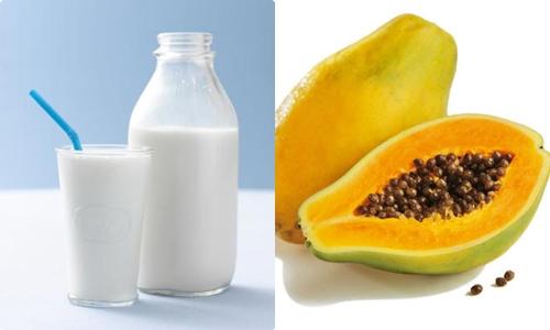 Các dưỡng chất trong sữa và đủ đủ sẽ nuôi dưỡng, bảo vệ làn da vào mùa hè