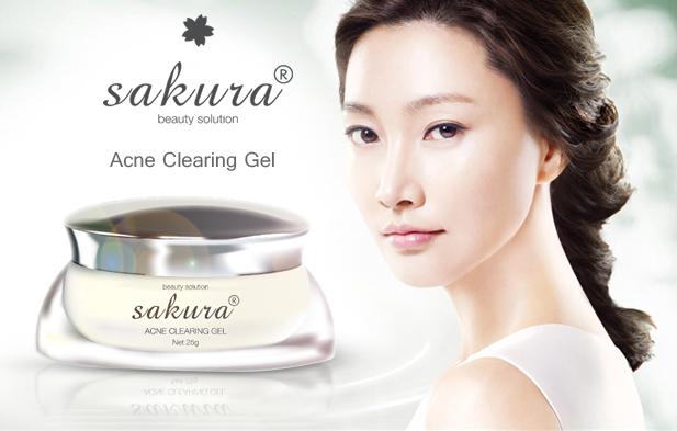 Kem trị mụn Sakura đánh bay mụn tận gốc mà không để lại sẹo hay vết thâm