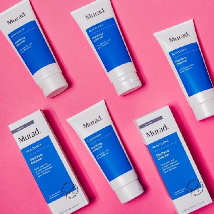 Gel rửa mặt Murad Clarifying Cleanser hỗ trợ giảm mụn và ngăn ngừa tái phát