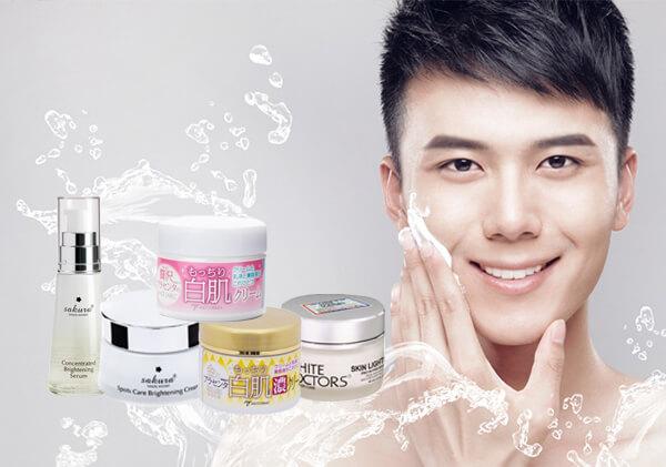 Top 5 loại kem dưỡng trắng da phù hợp, an toàn, hiệu quả với làn da phái mạnh