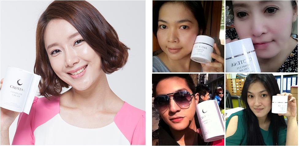 Kem chống nắng trang điểm Crotena đang gây sốt tại thị trường Hàn Quốc và Thái Lan