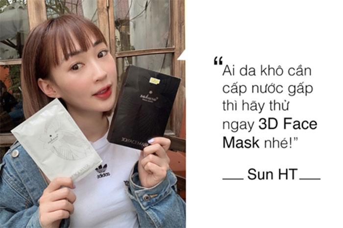 """Hot girl Hà Thành – Sun là một """"fan cuồng"""" của Sakura 3D Mask"""