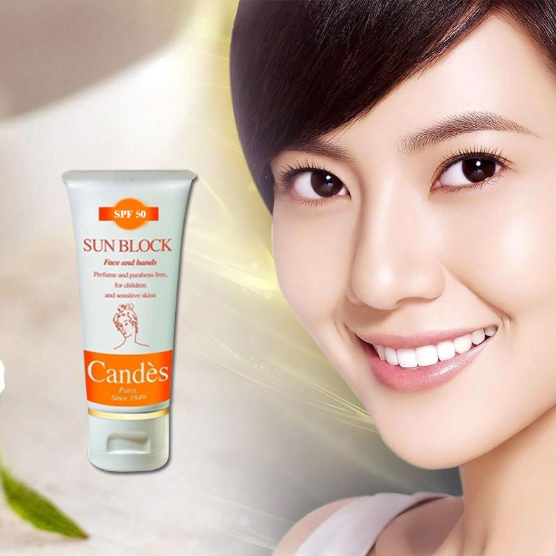 Kem chống nắng trắng da Candes: sản phẩm với rất nhiều các tác dụng vượt trội!