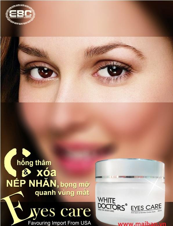 Kem chống thâm quầng mắt White Doctors giúp đôi mắt khỏe đẹp