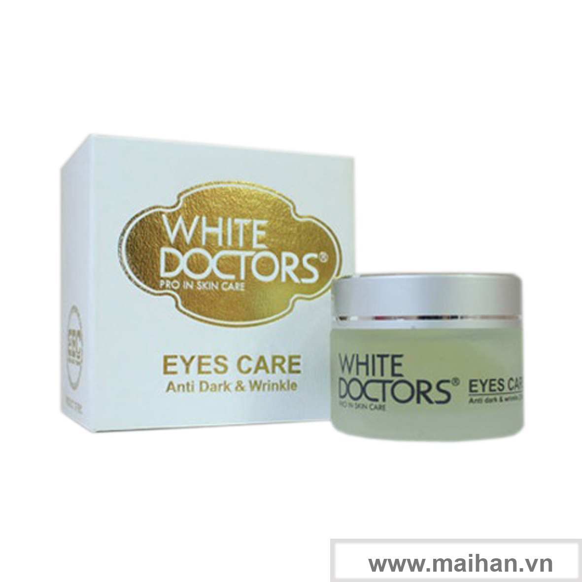 Kem chống thâm quầng mắt White Doctors là bí quyết giúp bạn hết thâm quầng mắt nhanh nhất