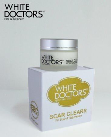 Kem trị sẹo rỗ White Doctors -  khả năng làm mờ các rãnh nhăn li ti và giúp làn da của bạn được trẻ hoá cao