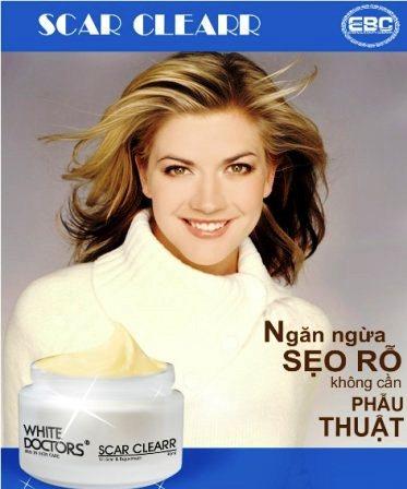 Kem trị sẹo rỗ White Doctors (Scar Clearr) giúp xóa tan sẹo rỗ hiệu quả và an toàn