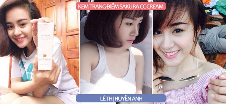 Bà Tưng nói gì về kem dưỡng da trang điểm Sakura CC Cream?