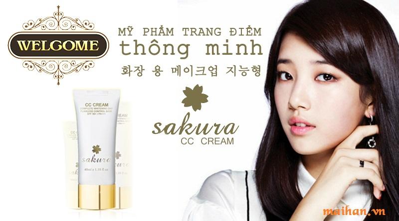 Với kem dưỡng da trang điểm Sakura, bạn không còn lo lắng làn da sẽ bị hư tổn khi sử dụng mỹ phẩm