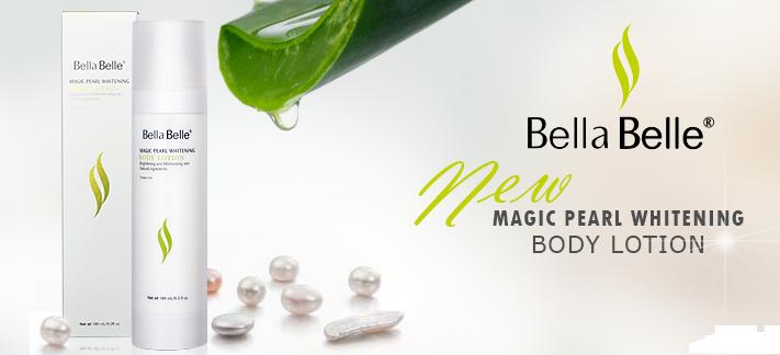 Kem dưỡng trắng da toàn thân Bella Belle Magic Pearl Whitening Body Lotion SPF 46
