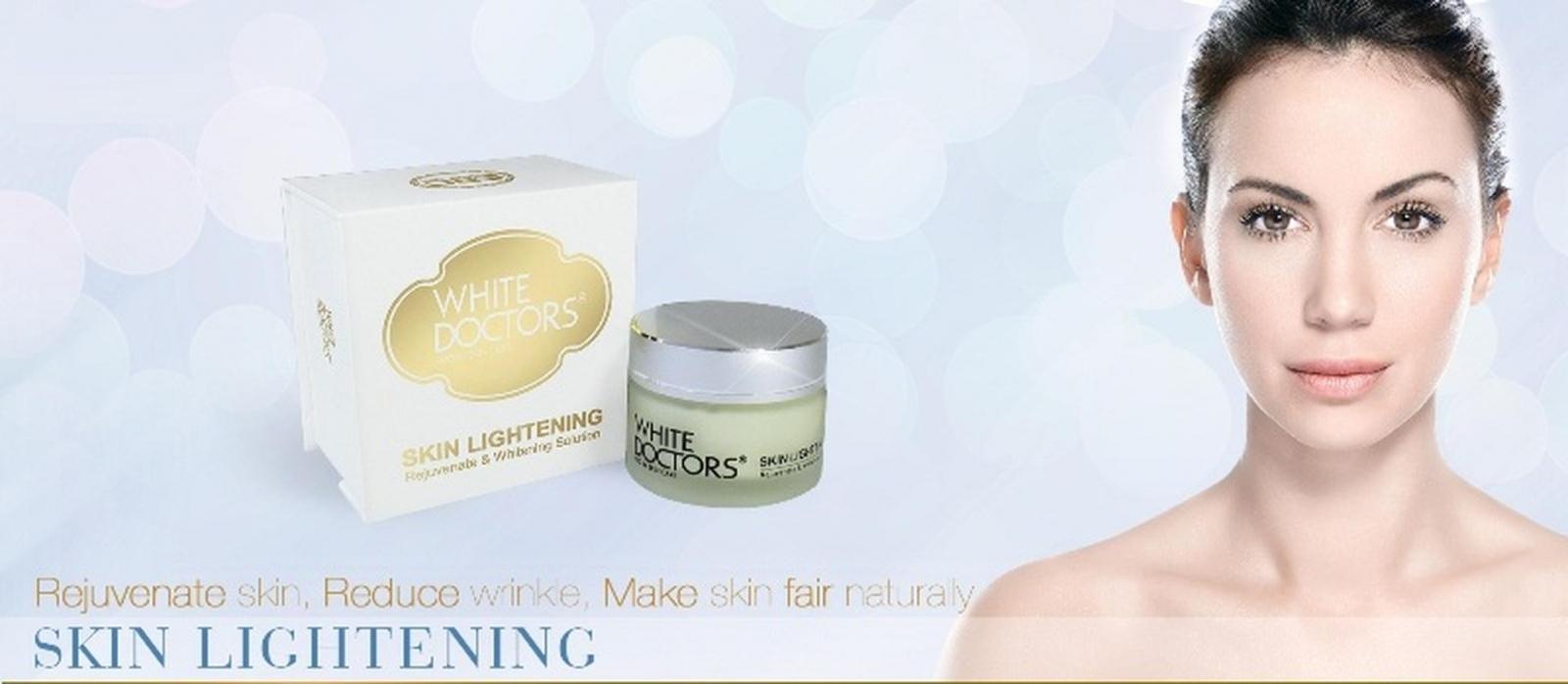 Hiệu quả bất ngờ với sản phẩm White Doctors Skin Lightening