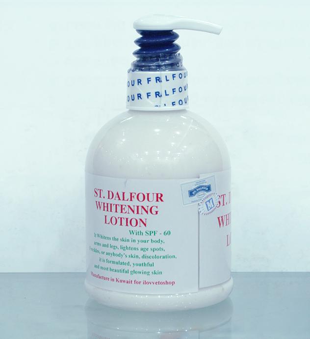 Sữa dưỡng trắng da toàn thân St Dalfour được xem là một trong những dòng sản phẩm dưỡng trắng toàn thân hiệu quả nhất hiện nay