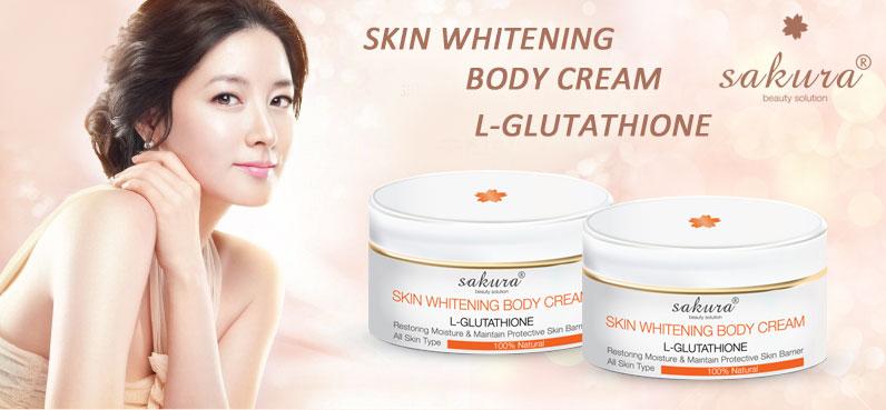Kem dưỡng trắng da toàn thân Sakura có tác dụng làm trắng và cung cấp các dưỡng chất cần thiết cho da