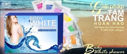 kem tắm trắng 6 trong 1 White Doctors