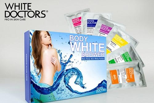 Kem tắm trắng toàn thân White Doctors 6 trong 1