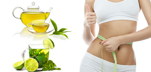 Sự kết hợp hoàn hảo giữa chanh và trà xanh sẽ đánh bay lớp mỡ thừa hiệu quả
