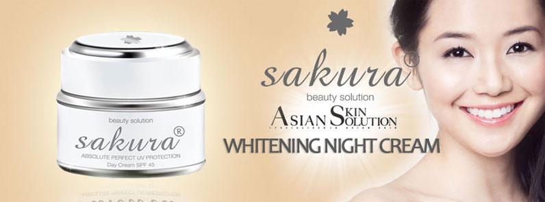 Chú ý làm sạch da mặt trước khi thoa kem trị nám ban ngày Sakura