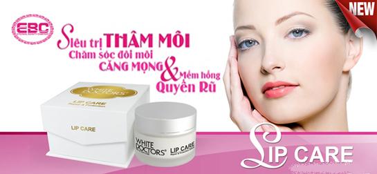 Kem trị thâm, làm hồng môi White Doctors (Lip Care)