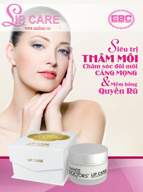 Kem trị thâm, làm hồng môi White Doctors (Lip Care) cho bạn đôi môi căng mọng và quyến rũ hơn