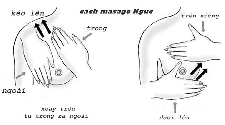 Những động tác massage giúp ngực phát triển to hơn và săn chắc hơn
