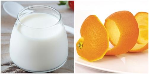 Sữa tươi và vỏ cam khô làm làn da bạn vừa trở nên trắng sáng, hết khô sần