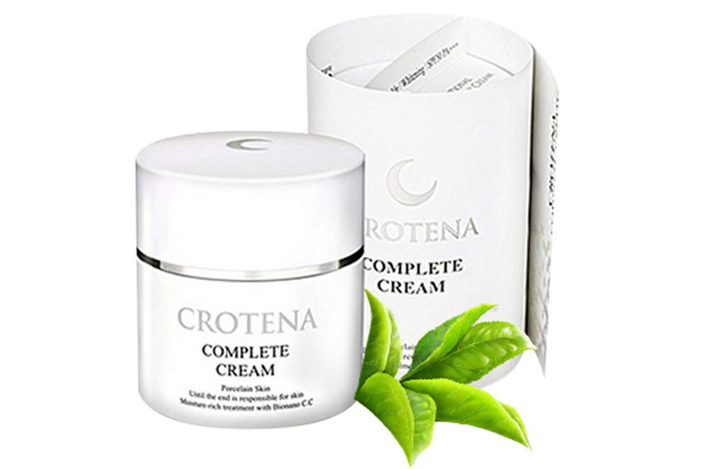 Bộ sản phẩm trang điểm chống nắng, ngăn ngừa lão hóa Crotena hình ảnh 5