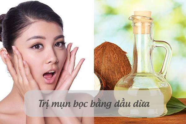 Bạn sẽ ngạc nhiên với hiệu quả trị mụn và vết thâm của dầu dừa