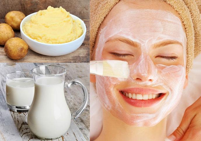 Mặt nạ khoai tây sữa chua có tác dụng như thế nào với làn da?