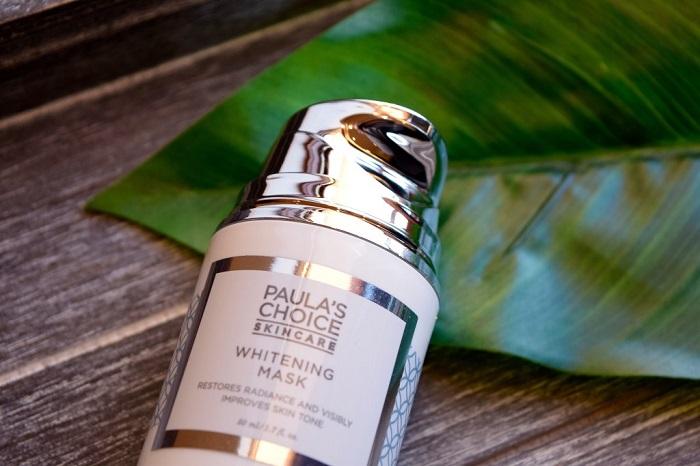 Mặt nạ dưỡng trắng whitening Mask có thể cải thiện tông màu da nhanh chóng