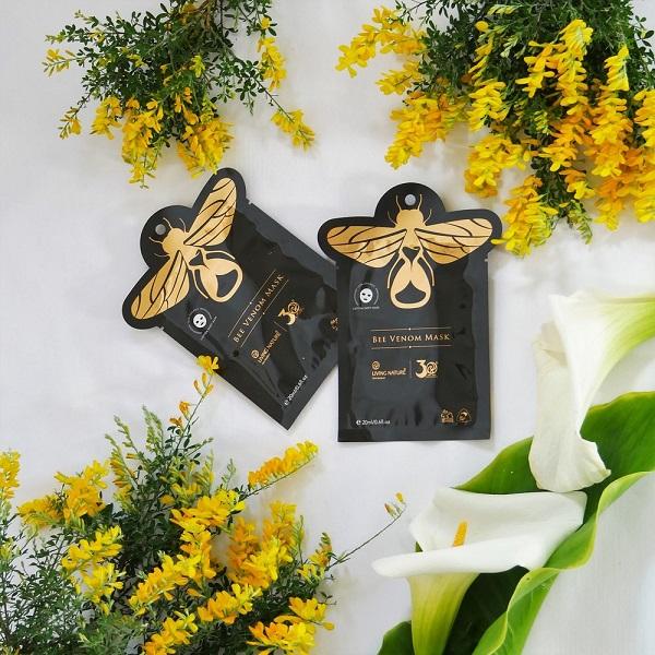 Thành phần mặt nạ nọc ong Bee Venom Mask 100% thiên nhiên hữu cơ