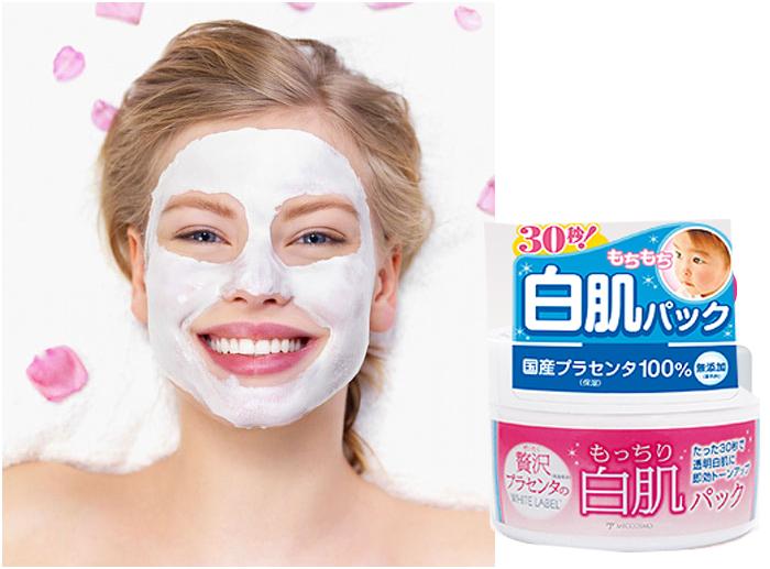 Mặt nạ rửa trôi dưỡng da Premium Placenta Pack